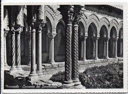 Monreale - Convento Dei Benedettini - Chiostro - Italia