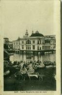 BARI - TEATRO MARGHERITA VISTO DAL MARE - EDIZIONE CASA EDITRICE D. PELLEGRINI - 1929 (3427) - Bari