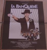 AFFICHE CINEMA ORIGINALE FILM LA BANQUIERE Romy SCHNEIDER Francis GIROD PISIER TRINTIGNAT BRIALY TBE FERRACCI 1080 - Affiches & Posters
