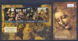 Marshall Isl. (2019) Leonardo Da Vinci (500th Anniversary Of Death) - Sheetlet And S/s (MNH) - Altri
