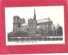 64. NOTRE-DAME DE PARIS . FACE SUD . CARTE NON ECRITE - France