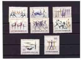 XX2617   -   YUGOSLAVIA    /   SERIE COMPLETA NUOVA  MNH**,   CAT. UNIFICATO  801/808 - Nuovi
