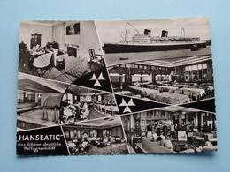 """T.S. """" HANSEATIC """" Das Schöne Deutsche Passagierschiff ( Conwa ) Anno 19?? ( Voir / Zie Photo ) ! - Paquebots"""
