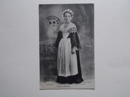 Carte Postale - COSTUME De Grande Fête De L'ILE AUX MOINES  (2986) - France