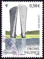 Oblitération Cachet à Date Sur Timbre De France N° 4735 - Monument à Valence - Drôme - Francia