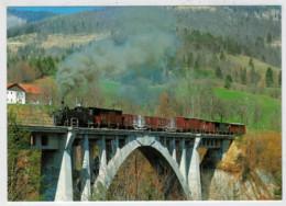 AUSTRIA     TRAIN- ZUG- TREIN- TRENI- GARE- BAHNHOF- STATION- STAZIONI   2 SCAN   (NUOVA) - Trains