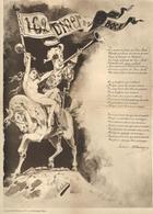 DÎNER DU BON BOCK-INVITATION N° 162 Du 11 Février 1891-Illustrateur MOLOCH - Poème MILLANVOYE - Documents Historiques
