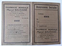 NICE Garde Ordonnance Pharmacie Mondiale  Baudassé - - Produits Pharmaceutiques