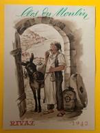 11309 - 1942 Clos Du Moulin  Rivaz Suisse Meunier Et Son âne - Autres