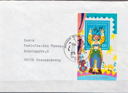 Postal History: Germany SS On Cover - Circus