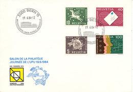 Switzerland Cover UPU Bern 19-6-1984 With UPU Stamps And Cachet - U.P.U.