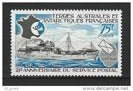 "TAAF YT 54 "" Service Postal "" 1974 Neuf** - Terres Australes Et Antarctiques Françaises (TAAF)"
