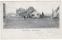 CP-JEN: Baudour Grand-Place. - Saint-Ghislain