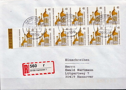 Postal History: Germany Stamps On R Cover - Churches & Cathedrals