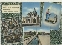 CARAVAGGIO -BERGAMO- SANTUARIO 1957 - Bergamo