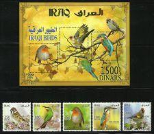 IRAQ   2015   BIRDS  SET & MS   MNH - Oiseaux