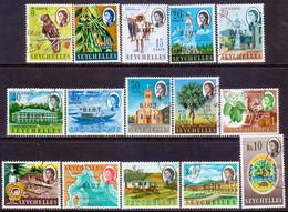 British Indian Ocean Territory 1968 SG #1-15 Compl.set Used - British Indian Ocean Territory (BIOT)