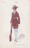 Illustrateur Xavier Sager - Les Femmes Alliées Soldat - Brésil Série N° 58  (lot Pat 70) - Sager, Xavier