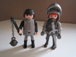 PLAYMOBIL 2 PERSONNAGES CHEVALIER - Playmobil