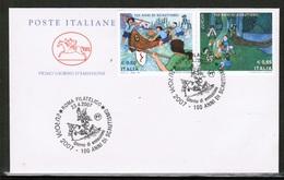 CEPT 2007 IT MI 3176-77 I ITALY FDC - 2007