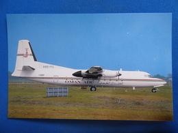 FOKKER 27   OMAN AIR   A40 FC - 1946-....: Ere Moderne