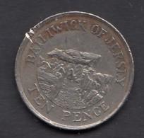 1992 10p - Jersey