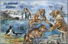 Niger 2015 Prehistory Prehistoire Dinosaurs Dinosaures MNH - Prehistory