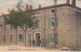 CPA PIERRELATTE    La Gendarmerie - Autres Communes