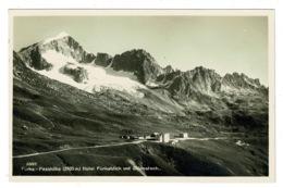 Ref 1313 - Real Photo Postcard - Hotel Furkablick Furka-Passhohe - Uri Switzerland - UR Uri