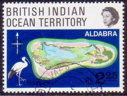 British Indian Ocean Territory 1969 SG #31 2r25c Used Coral Atolls - British Indian Ocean Territory (BIOT)