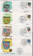 Germany 4 FDCs From 1994 - Covers