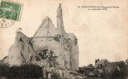 COULLEMELLE  ( 80 ) - L' église En 1919 - Other Municipalities