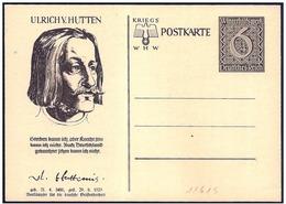 Germania/Allemagne/Germany: Intero, Stationery, Entier, Ulrich Von Hutten, Teologo, Théologien, Theologian - Teologi