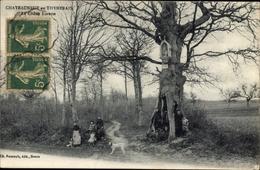 Cp Châteauneuf En Thymerais Eure Et Loir, Le Chène Lorette - Other Municipalities