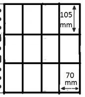 10 Pochettes GF - 12 Cases (cartes à Jouer, Joker, ...) / 10 GF Mappen - 12 Vakken - Ander Materiaal