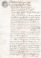 1822.Poeke ( Aalter) Vestiging Hypotheek Op 5 Goederen Met Specifieke Naam - Documents Historiques