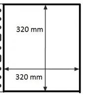 100 Pochettes GF  NEUVES/NIEUW - 1 Case / 100 GF Mappen - 1 Vak - Made In Belgium - Timbres