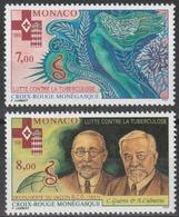 Année 1996 - N° 2063 - 2064 - Croix-Rouge Monégasque - Lutte Contre La Tuberculose - 2 Valeurs Neufs Cote 7,05 € - Neufs