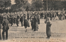 Rentrée Des Français à Reims (13 Septembre 1914) Convoi De Blessés Prisonniers, Bd De La République - Reims