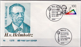Germany FDC From 1994 - Physics