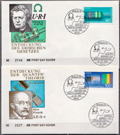Germany Pair On 2 FDCs From 1994 - Physics