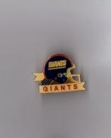 Pin's Football Américain / Giants De New York (époxy Signé NFL 1991) Longueur: 3,6 Cm - Pin's