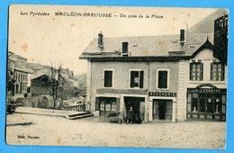 65 - Hautes Pyrénées - Mauleon Barousse -  Un Coin De La Place (0227) - Mauleon Barousse