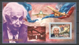 Guinee 2006 Mi Block 991 MNH ALBERT EINSTEIN - CONCORDE - Albert Einstein