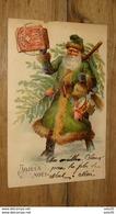 Carte Postale Pere Noel, Santa Claus , Carte Gaufrée De 1905 …... … PHI.......2947 - Santa Claus