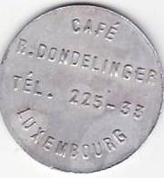 G.D. Luxembourg -Café R. Dondelange - Bière - Ethnologie - Quilles - Folklore - Monétaires / De Nécessité