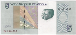 Angola 5 Kwanzas 2012 (6) P-151 /024B/ - Angola
