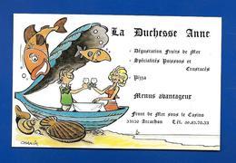 Carte De Restaurant LA DUCHESSE ANNE Arcachon 33 - Maps