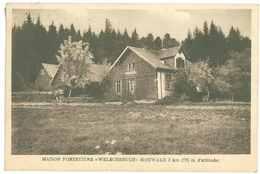 67 - Vallée De BARR - La Maison Forestière Welschbruch...Hohwald... - Francia