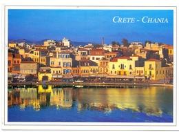 CRETE CHANIA GREECE 1998 (AGOS100001-4) - Grecia